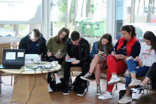 rjota, vvpi, visuomenės ir verslo plėtros institutas, Nida, mokymai, Marijampolė, jaunimas, jaunimo mokymai, mokymai jaunimui